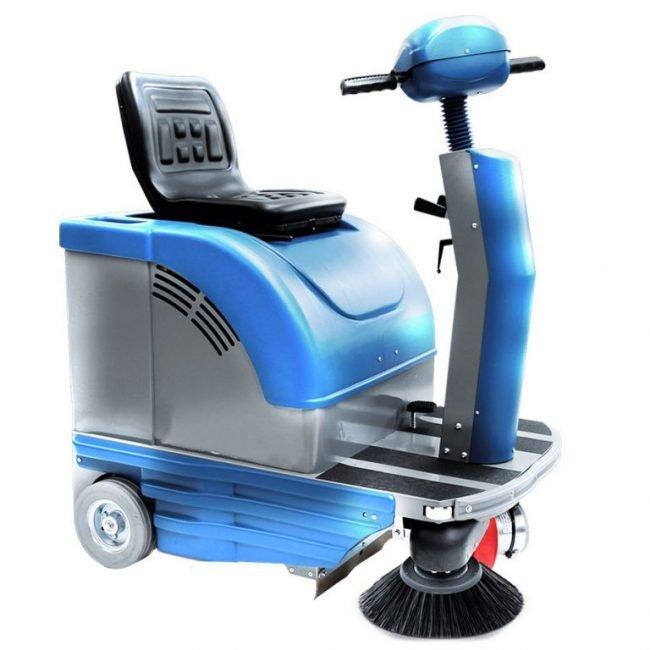 masina de maturat cu om la bord mini sweeper fiorentini euc